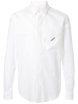 Yoshiokubo casual shirt - White