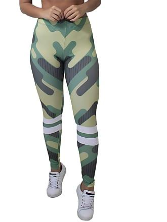 Kaisan Calça Feminina Legging Camouflage