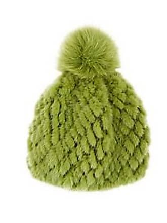 9683aeb58f2 Barneys New York Womens Mink   Fox Fur Beanie - Green