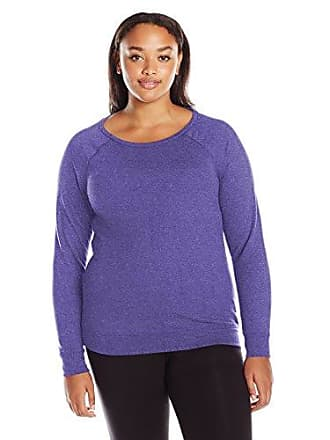 45d4c096f1b5 Champion Womens Plus-Size French Terry Pullover Crew