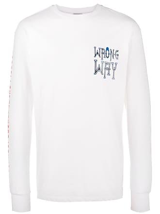 Ex Infinitas Camiseta mangas longas Wrong Way - Branco
