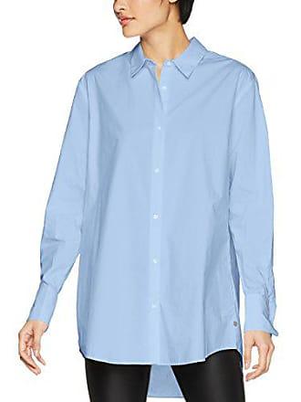 b89d02ca346 Pepe Jeans London Debra Blouse Femme Bleu (Lt Blue) X-Small (Taille