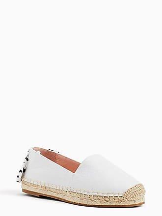 Kate Spade New York Grayson Espadrille Flats, White - Size 9.5