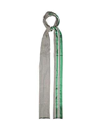 Haider Ackermann Vathy Silk Blend Scarf - Womens - Green