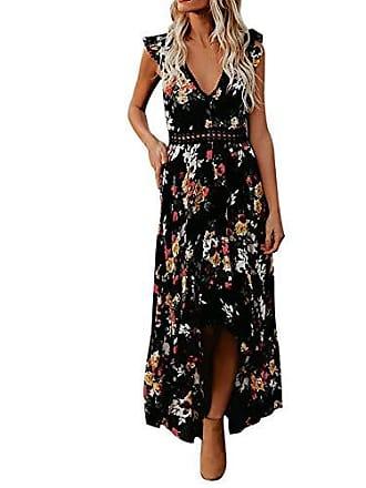 d83388aa6573c Jutoo Festliche Kleider schöne Kleider etuikleid Strickkleid Damen Kleider  Sommerkleider Damen Elegante Kleider Lange Kleider blaues