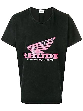 Rhude Camiseta com estampa Rhonda - Preto