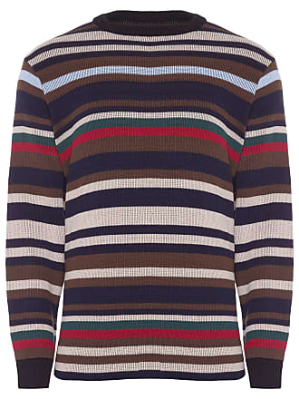 Osklen SUÉTER MASCULINO TRICOT OVER DOUBLE SURFING THE CITY - AZUL