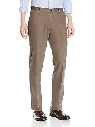 Goodthreads Mens Straight-Fit Wrinkle-Free Dress Chino Pant, Taupe, 28W x 28L