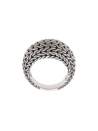 John Hardy Classic Chain Dome ring - Silver