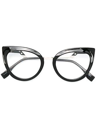 Fendi Armação de óculos gatinho - Preto
