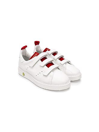 Golden Goose kids TEEN smash sneakers - Branco