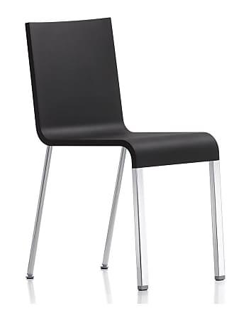 Vitra 03 Chair Black & Chrome