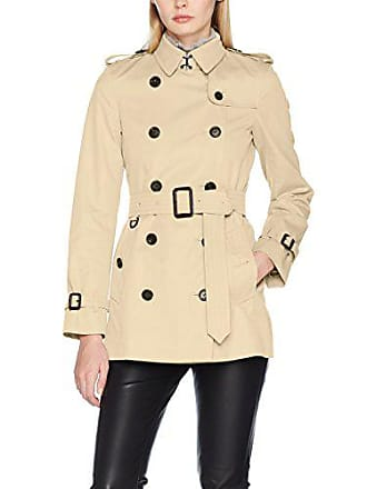 Burberry Wkensington Short, Manteau Femme, Beige (Stone 25010), Medium 8ddd11732a1b