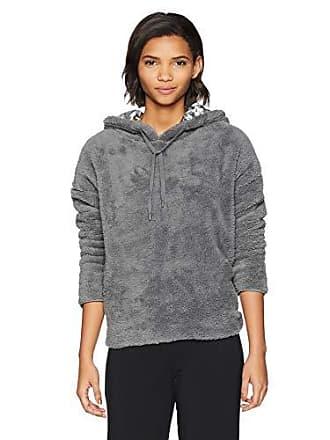 PJ Salvage Womens Lounge Zip Up Sweatshirt, Cozy Grey, X-Large