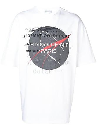 Ih Nom Uh Nit Nasa logo print T-shirt - White