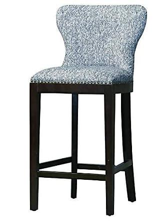 New Pacific Direct 3900027 Dorsey Fabric Bar Stool Furniture, Quiver Indigo Blue