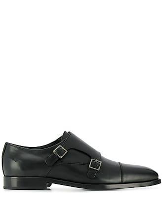 Paul Smith double monk strap shoes - Preto