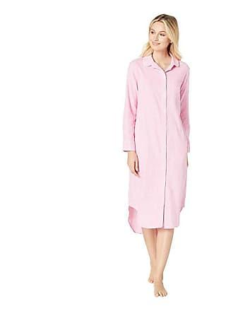 Ralph Lauren Long Sleeve Rounded Collar Ballet Sleepshirt (Pink Plaid) Womens  Pajama dfef616ee
