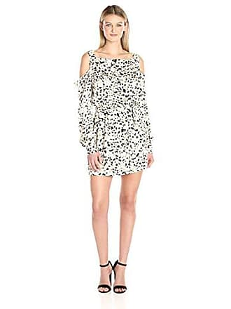 Minkpink Womens Sumatran Cold Shoulder Dress, Multi Medium