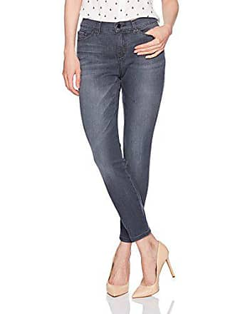 Lee Womens Modern Series Midrise Fit Anna Skinny Ankle Jean, Spade, 6 Long