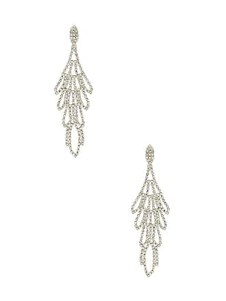 8 Other Reasons Tiered Earring in Metallic Silver