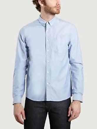 Ami Hellblaues Oxford-Hemd aus Baumwolle mit Knöpfen - cotton | Light Blue | 38