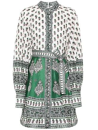 Zimmermann Amari printed linen minidress