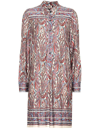 Isabel Marant Wilena stretch jersey shirt dress