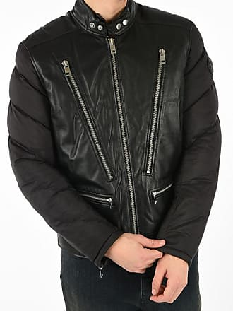 Diesel Leather and Nylon L-WINTER Jacket size Xxl