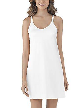 Vanity Fair Womens Spinslip 10158, Star White, Size 34, 18 Inch