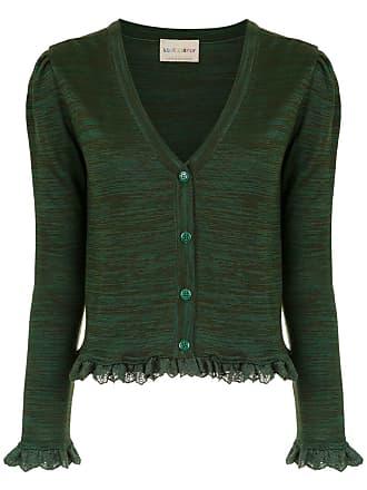 Andrea Bogosian Cardigan de tricô - Verde