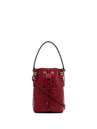 Fendi Borsa a secchiello Mon Tresor - Di Colore Rosso 1f49a9f10a3