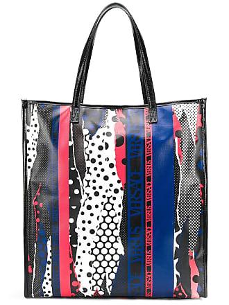 77c5247057 Versus torn polka dot print shopper tote - Black