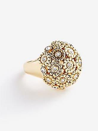 ANN TAYLOR Pave Fireball Ring