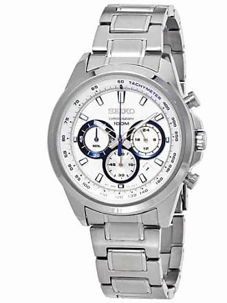 43afb2248ad Seiko Neo Sports Chronograph White Dial Mens Watch SSB239
