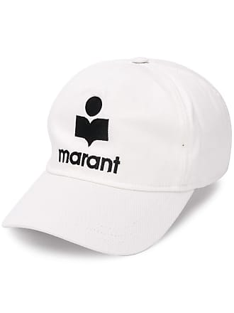 Isabel Marant logo embroidered cap - Branco