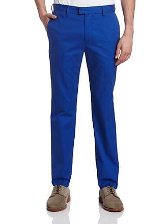Dockers Mens Modern Slim Fit Flat Front Coin Pocket Pant, Electric Blue - discontinued, 30W x 30L
