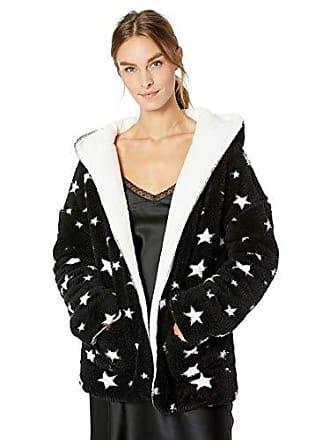 PJ Salvage Womens Cozy Lounge Sweater, Dreamer Black Large