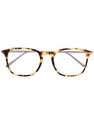 Salvatore Ferragamo Armação de óculos quadrada - Marrom