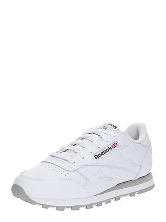 015f3e559b3abe Reebok Classic Sneaker CL LTHR hellgrau   weiß