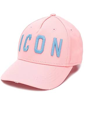 Dsquared2 Icon embroidered baseball cap - Rosa
