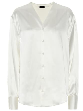 Joseph Silk satin blouse