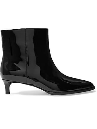 3.1 Phillip Lim Agatha Patent-leather Ankle Boots - Black