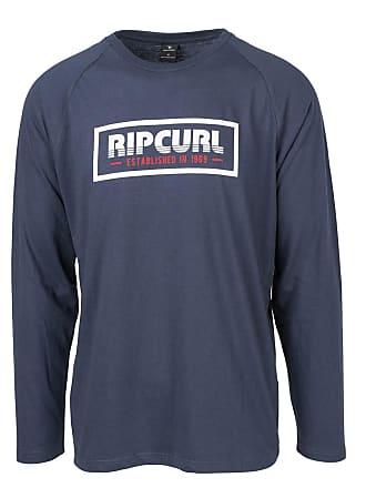 6aacd0b3efcfbd Rip Curl Langarmshirt mit rundem Ausschnitt - BLAU - RIP CURL
