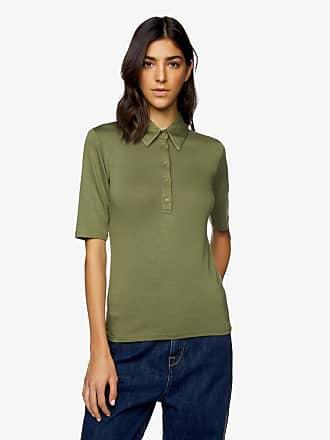 polo senza manica LACOSTE azzurra maglie donna t-shirt women