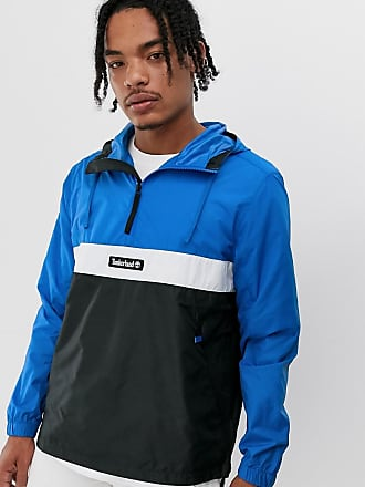 Timberland funnel neck pull over jacket-Blue