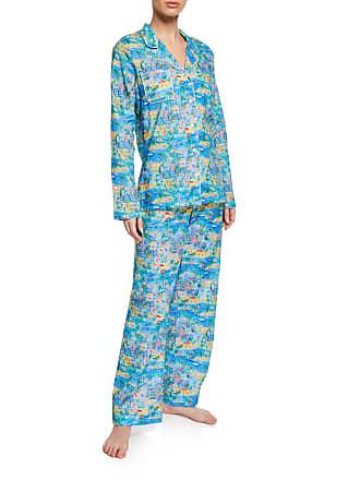 5c3cd5959b Derek Rose Ledbury Impressionist Classic Pajama Set