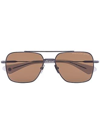 Dita Eyewear Óculos de sol quadrado Flight - Marrom