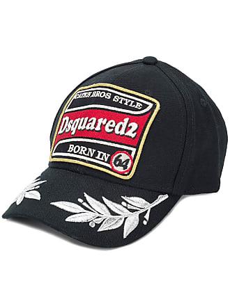 fff2f73ed7d Dsquared2 logo patch baseball cap - Black