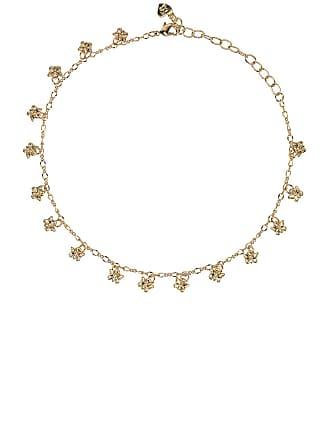dfc2501246ab Frasier Sterling Butterflies Choker Necklace in Metallic Gold